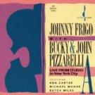 johnny frigo with bucky & john pizzarelli - live from studio in new york city CD 1989 chesky