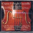 cyprus fulbright ensemble - debut recording united kingdom and the united states CD new