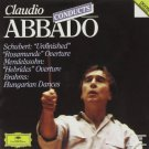 claudio abbado conducts schubert mendelssohn and brahms CD DG polygram used mint