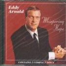 eddy arnold - whispering hope CD 2-discs 1995 RCA 24 tracks used mint