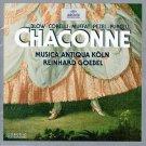 chaconne - blow corelli marini purcell - musica matiqua kolm + reinhard goebel CD 1997 archiv