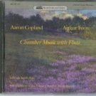 copland + foote - chamber music with flute - fenwick smith CD 1987 northeastern used mint