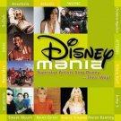 disney mania - various artists CD 2002 walt disney 15 tracks used mint