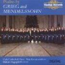psalms by grieg and mendelssohn - oslo cathedral choir, terje k vam, hakan hagegard CD 1989 nimbus
