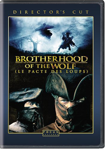 brotherhood of the wolf - director's cut DVD 2-discs 2008 universal used mint
