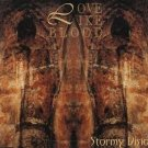 love like blood - stormy visions CD single 1993 rebel 4 tracks used mint