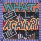 lou & peter berryman - what, again? CD 1993 cornbelt 15 tracks used mint