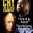cry the beloved country - james earl jones + richard harris DVD 2011 miramax used mint