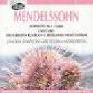 mendelssohn symphony no 4 italian + overtures - LSO w/ previn CD 1993 EMI used mint