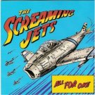 screaming jets - all for one CD 1991 polygram rooart 11 tracks used