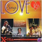 love songs of the 50's - various artists CD 1993 elap x-tra collection 16 tracks used