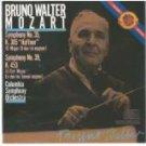 mozart symphony no. 40 + 41 - bruno walter & columbia symphony orchestra CD 1985 CBS