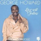 george howard - love will follow CD 1991 GRP 7 tracks used mint