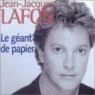 jean-jacques lafon - le geant de papier CD 2001 sony 14 tracks new
