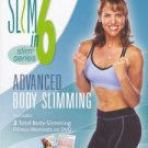 debbie siebers' slim in 6 - advanced body slimming - shape it up + tone it up DVD 2-discs used mint