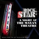 rock star - a night at the mayhem theatre CD 2005 burnett epic 17 tracks used mint