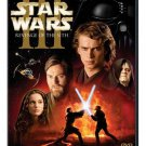 star wars III revenge of the sith DVD 2-discs widescreen 2005 used mint