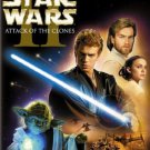 star wars II attack of the clones DVD 2-discs widescreen 2005 used mint