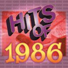 hits of 1986 - various artists CD 1999 sony 10 tracks used mint