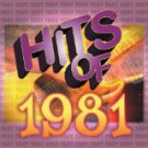 hits of 1981 - various artists CD 1999 sony 10 tracks used mint