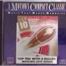 top ten with a bullet! motown love songs - various artists CD 1987 motown 11 tracks used mint