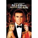never say never again - sean connery DVD 2000 NSNA 133 mins used mint