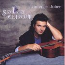 laurence juber - solo flight CD 1990 juber music 1996 acoustic music 14 tracks used mint