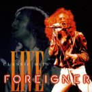 foreigner - classic hits live CD 1993 atlantic bmg direct 14 tracks used mint