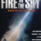 fire in the sky - D.B. Sweeney, Robert Patrick DVD 2004 paramount used mint