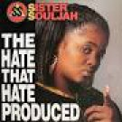 sister souljah - the hate that hate produced CD maxi single 1992 epic sony 3 tracks