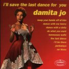 damita jo - i'll save the last dance for you CD 1999 combo italy 23 tracks used mint