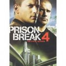 prison break 4 the final season DVD 6-disc set 2009 20th century fox used