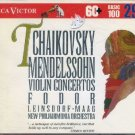 Tchaikovsky / Mendelssohn - Violin Concertos RCA Victor Basic 100 Vol. 29 CD 1993 used mint