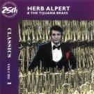 herb alpert & the tijuana brass - classics volume 1 CD 1986 1987 A&M 25 tracks used mint