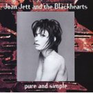 joan jett - pure and simple CD 1994 warner BMG Direct 12 tracks used mint