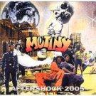mutiny - aftershock 2005 CD 1995 rykodisc black arc 10 tracks used mint