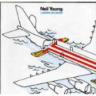 neil young - landing on water CD 1986 geffen goldline 10 tracks used mint