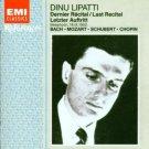 dinu lipatti - last recital CD 1994 EMI france used mint