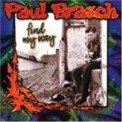 paul brasch - find my way CD 1999 burnside 13 tracks used mint