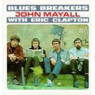 john mayall & the blues breakers - with eric clapton CD 1988 polygram 12 tracks used mint