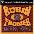 robin trower - greatest hits live CD 2003 king biscuit flower hour 12 tracks used mint