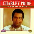 charley pride - 24 greatest hits CD 1996 tee ver records used mint