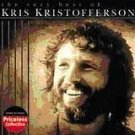 kris kristofferson - very best of CD 2004 sony collectables 10 tracks used mint