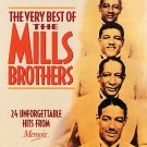 mills brothers - very best of mills brothers CD 2003 memoir UK 24 tracks used mint