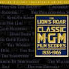 lion's roar classic M-G-M film scores 1935 - 1965 CD 2-discs 1999 rhino 37 tracks used mint
