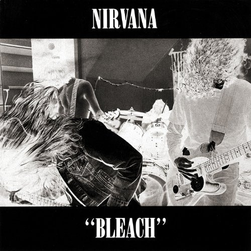nirvana - bleach CD 1989 sub pop 13 tracks used mint