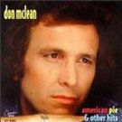 don mclean - american pie & other hits CD 1994 cema capitol 10 tracks used mint