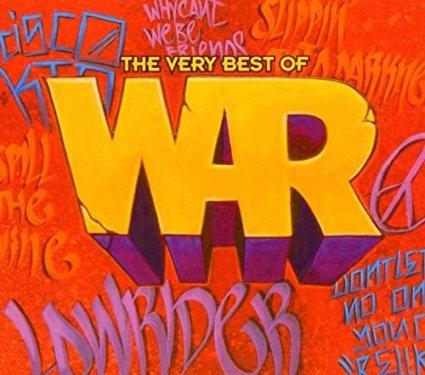 war - very best of war CD 2-discs 2003 rhino avenue 34 tracks used mint