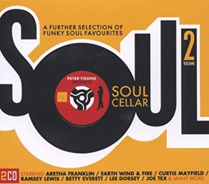 soul cellar volume 2 - various artists CD 2-discs 2006 metro union square 30 tracks used mint