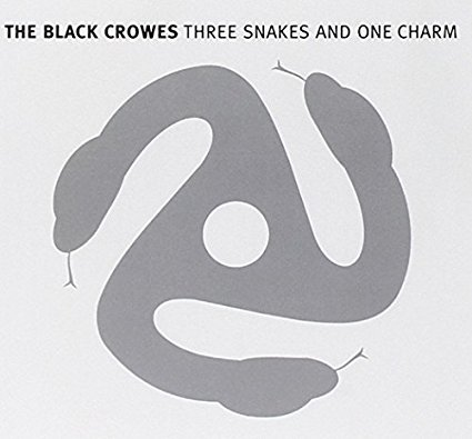 blak crowes - three snakes and one charm CD 1996 american angelus 14 tracks used mint
